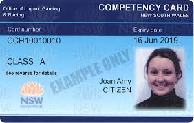 competency card